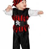 Kleine Piratenjongen kostuum