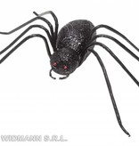 Glitter spin zwart 14,5cm