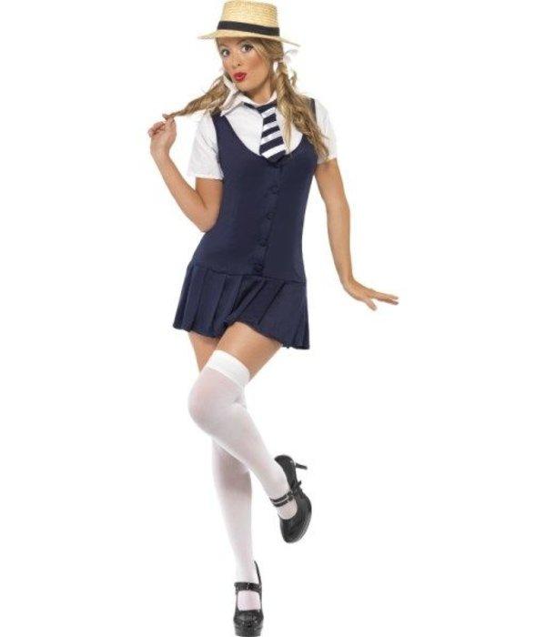 Verkleedkleding studente schoolmeisje