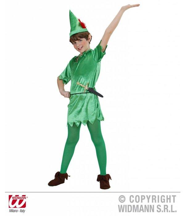 Peter Pan kostuum kind