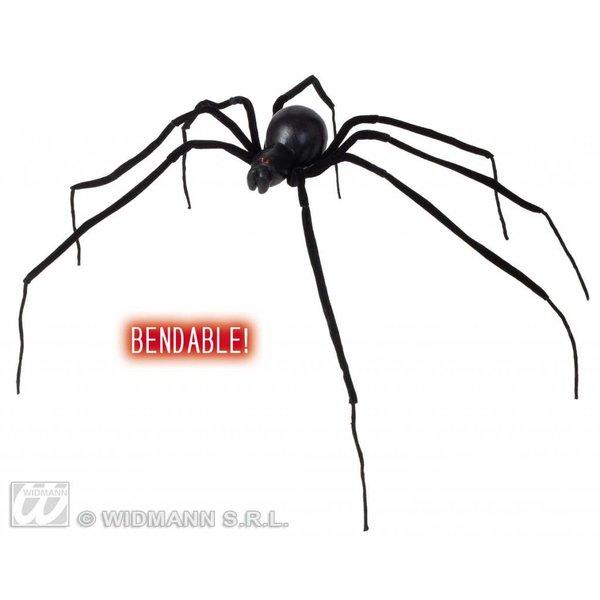 Buigbare zwarte spin 110cm