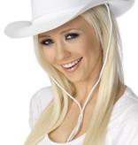 Cowboyhoed plastic wit