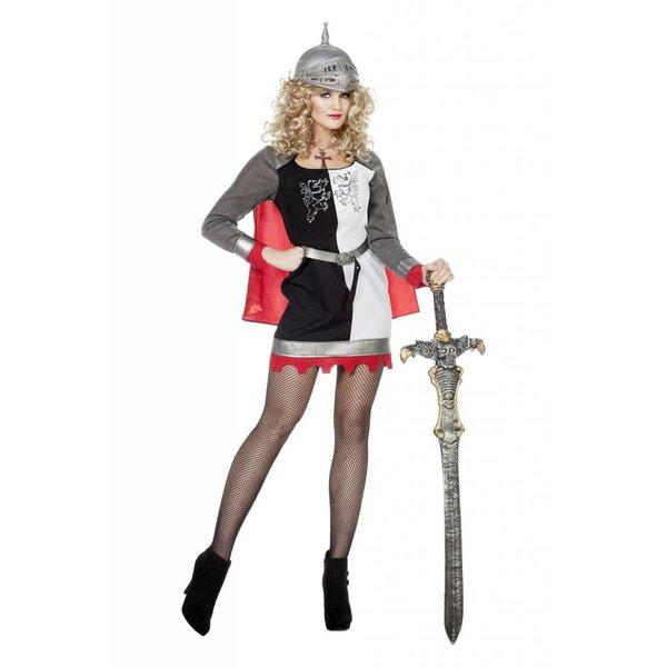 Ridder verkleedpak vrouw Atalanta