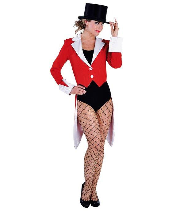 Slipjas vrouw elite rood