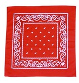 Boerenzakdoek rood