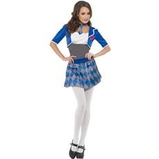 Schoolmeisje outfit vrouw