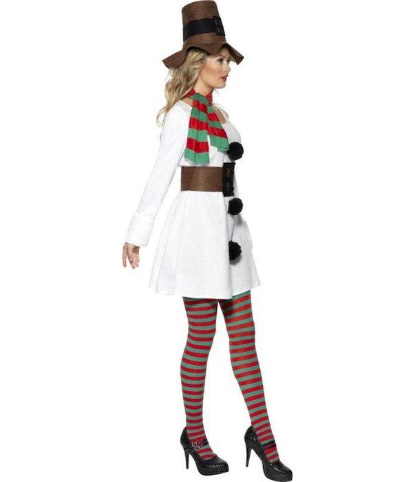 Miss Snowman kostuum