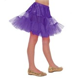 Petticoat lang paars kind