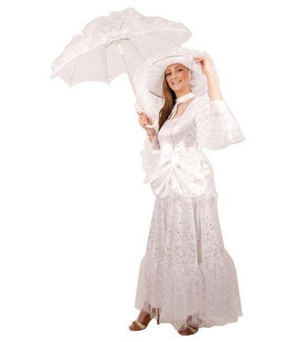 Kostuum hofdame met hoed