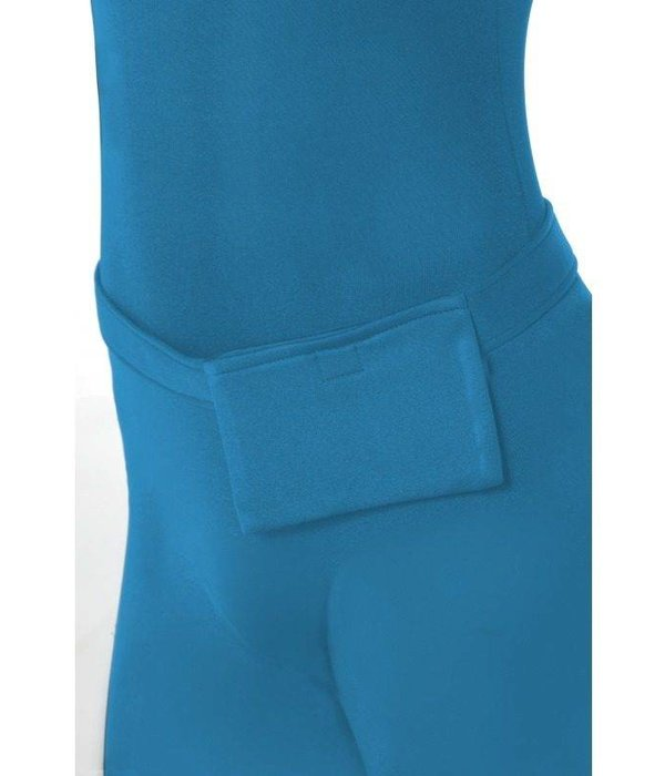 Second skin suit blauw