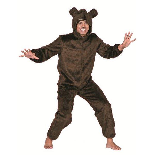 Beren kostuum bruin