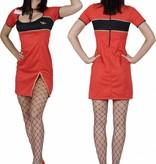 Stewardessen pakje rood