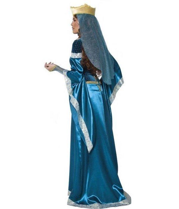 Middeleeuwse Lady Marion kostuum elite