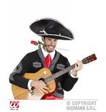 Sombrero zwart Carlo