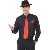 Gangster verkleedset rood