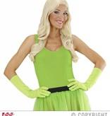 Handschoenen lang neon groen