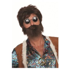 Pruik lumberjack met baard