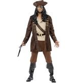 Piraten Boekanier kostuum man
