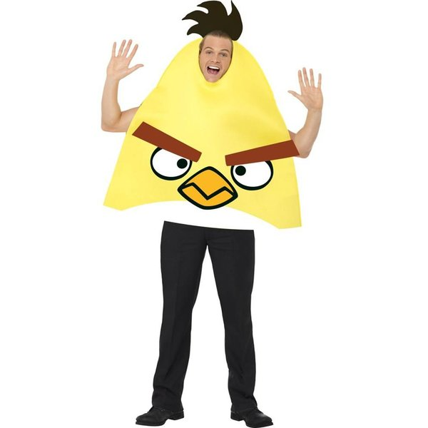 Angry Birds kostuum gele vogel