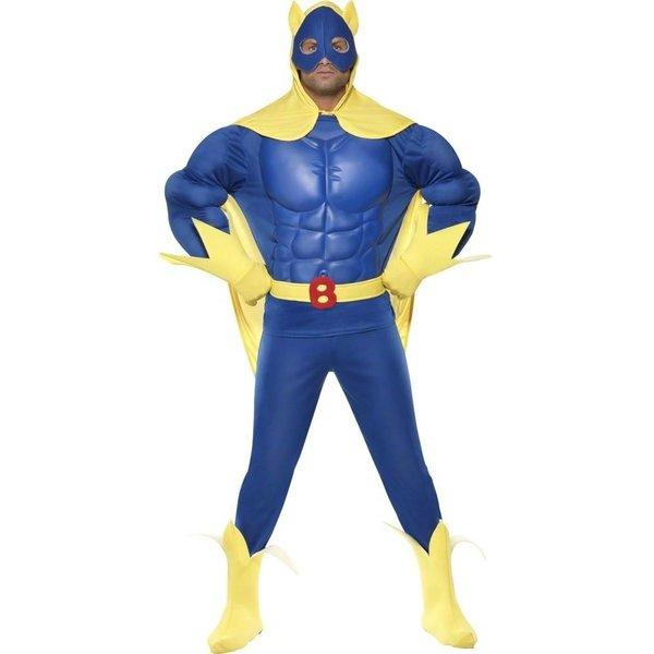 Bananaman superheld kostuum