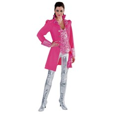 Markiezin jas dames pink