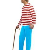 Waar is Wally kostuum man