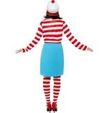 Waar is Wally Wenda kostuum vrouw
