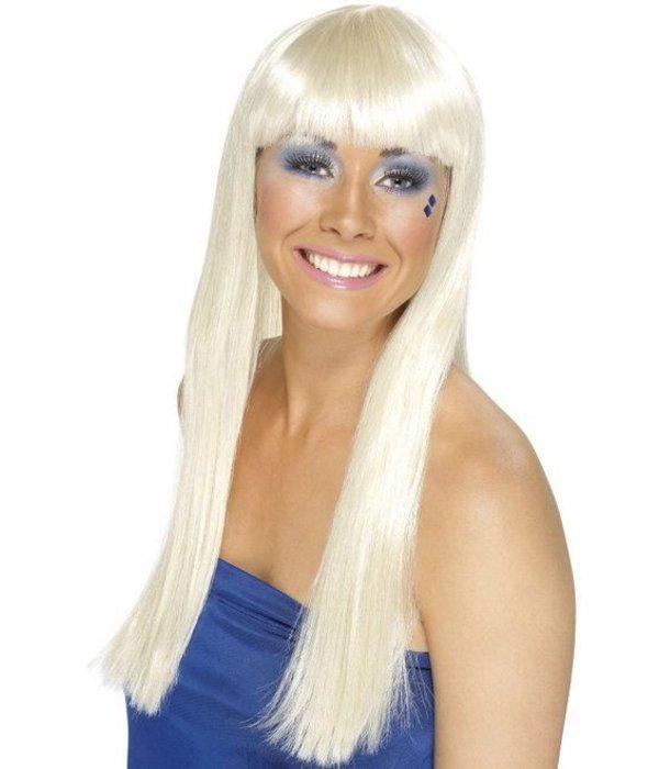 Blonde Dancing Queen pruik