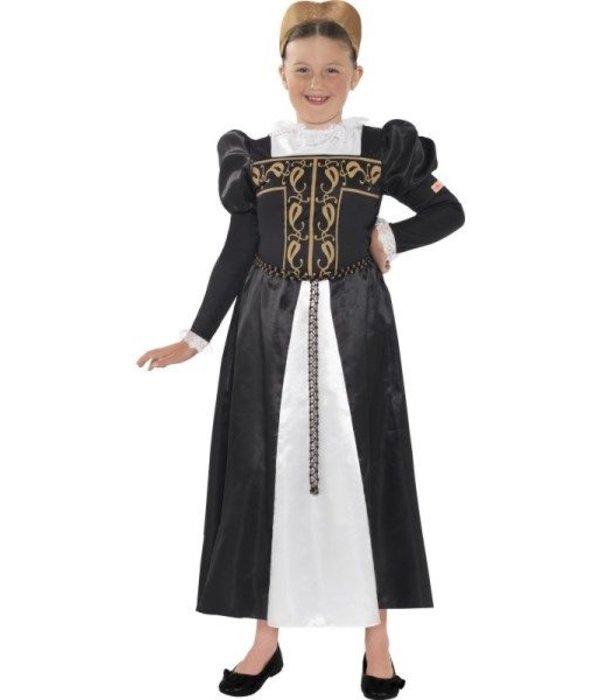 Historische Mary Stuart kostuum kind