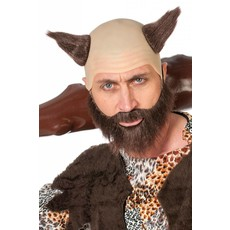 Glatze en baard Historische man