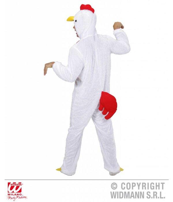 Witte Kip kostuum pluche
