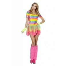 Regenboog jurk vrouw