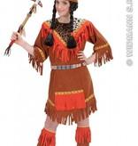 Indiaanse Meisjes kostuum Savannah