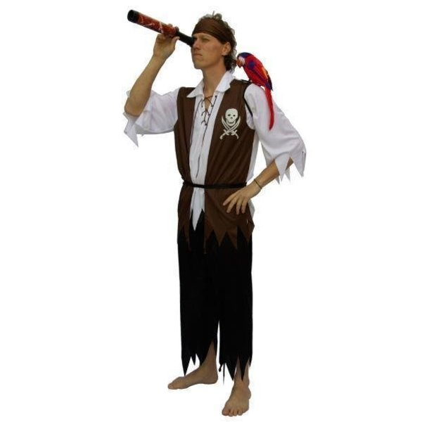 Kostuum Piraat man Lancaster