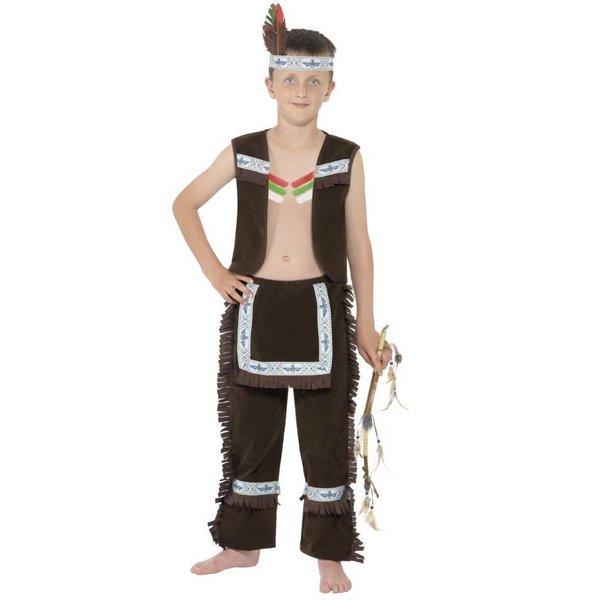 Indiaanse jongen kinderen kostuum