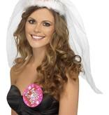 Gesluierde Bride to Be tiara