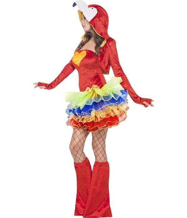 Sexy Papegaai pak carnaval