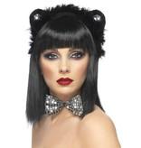 Kattensetje zwart/zilver