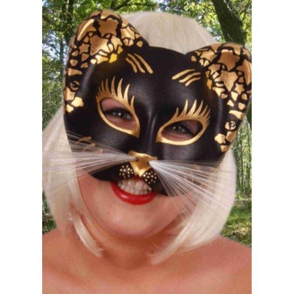 Oogmasker kat glitter