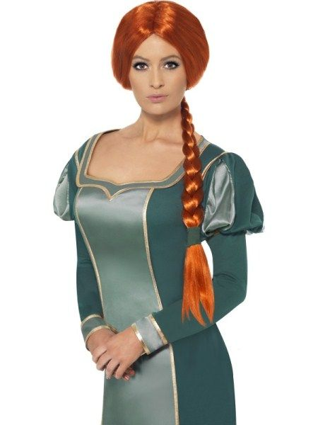 Shrek Prinses Fiona pruik