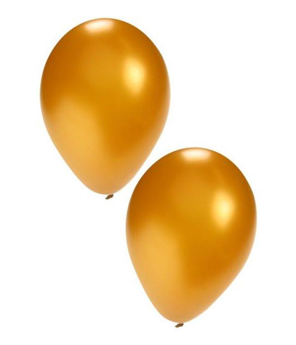 Ballonnen 50x goud