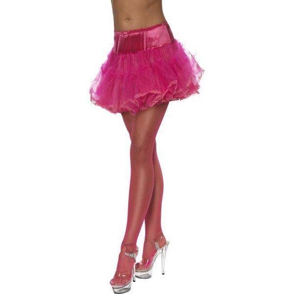 Tule petticoat hot pink
