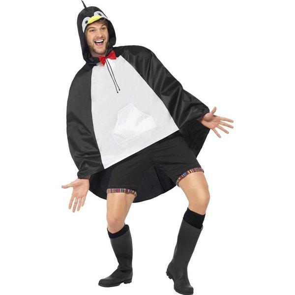 Party Poncho festival pinguïn