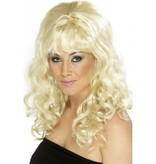 Pruik beauty blond