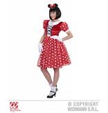 Minnie Mouse verkleedpak vrouw