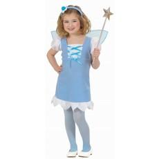 Kleine Pixie kostuum blauw