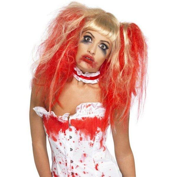 Blood Drip Halloween pruik