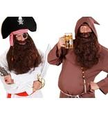 Baard Monnik/Piraat bruin