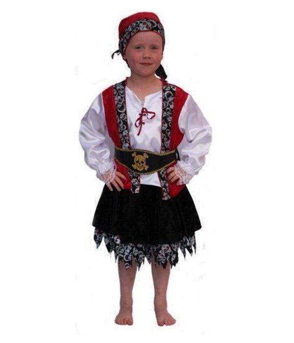 Piraten verkleedpakje meisje Skull