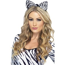 Zebra strik op hoofdband